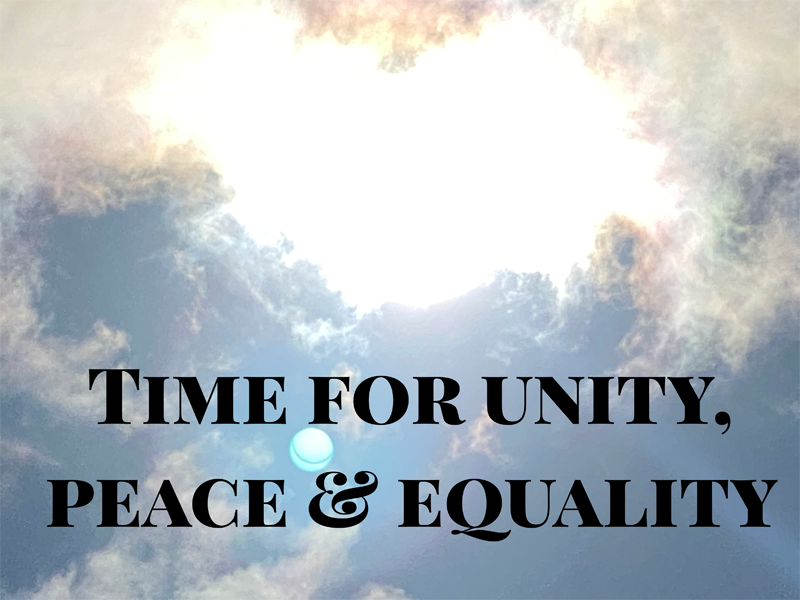 Dr. Iraniha - It's time for unity, peace and equality
